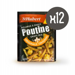 12 sachets de sauce poutine St-Hubert