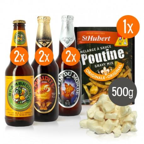 Kit à poutine Bières du Québec