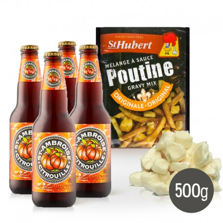 Kit à poutine Halloween