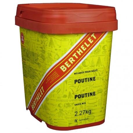 Sauce poutine Berthelet 2,27 kg